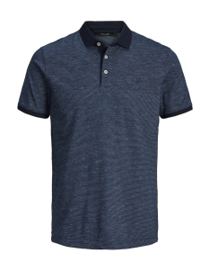 Jack & Jones Polo JPRCLEIN BLA SS POLO 12149861 Blue Depths/MELANGE