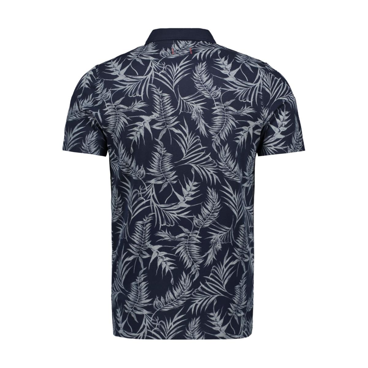jprgrayson blu. polo ss 12149300 jack & jones polo navy blazer/flower print