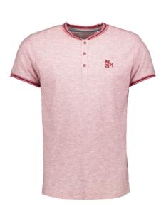 NO-EXCESS T-shirt SLUB TSHIRT 90350302 182 DK CHERRY