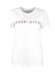 Harper & Yve T-shirt LUREX TSHIRT SS19K323 OFF WHITE