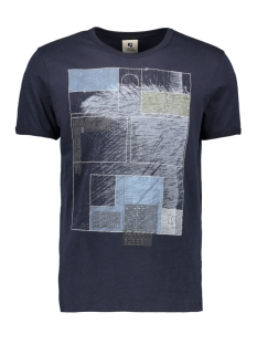 Garcia T-shirt D91204 292 Dark Moon