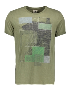 Garcia T-shirt D91204 3859 Vetiver
