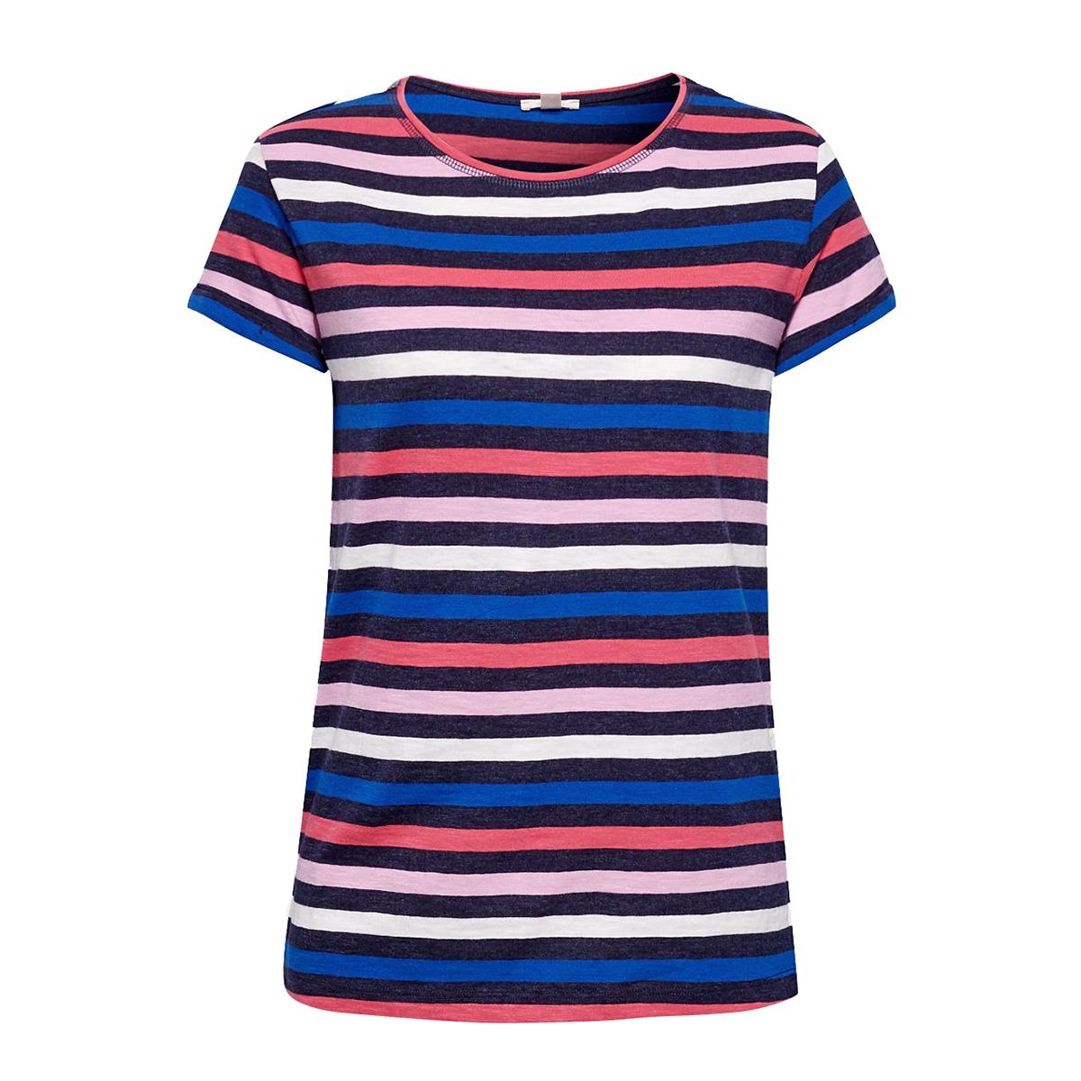 gestreept shirt met slubstructuur 049ee1k044 esprit t-shirt e400