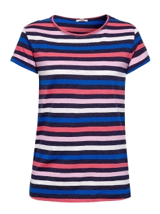 Esprit T-shirt GESTREEPT SHIRT MET SLUBSTRUCTUUR 049EE1K044 E400