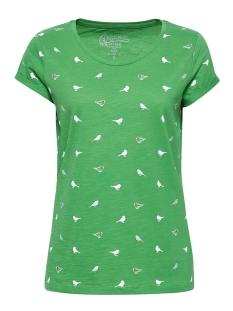 EDC T-shirt SHIRT MET PRINT EN BIOLOGISCH KATOEN 049CC1K033 C300