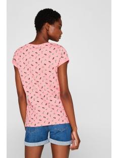 shirt met print en biologisch katoen 049cc1k033 edc t-shirt c670