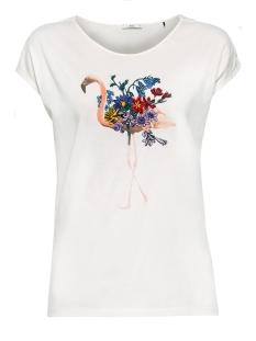 EDC T-shirt PRINTED SHIRT MET BORDUURSEL 049CC1K030 C110