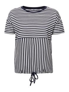 EDC T-shirt SHIRT MET TUNNELKOORD IN DE ZOOM 049CC1K012 C400