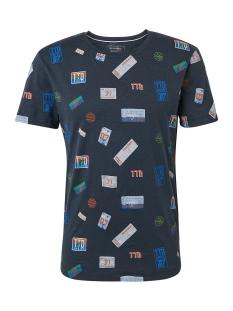 Tom Tailor T-shirt T SHIRT MET MOTIEFPRINT 1010036XX12 17205