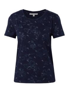 t-shirt met bloemenprint 1009860xx71 tom tailor t-shirt 16848