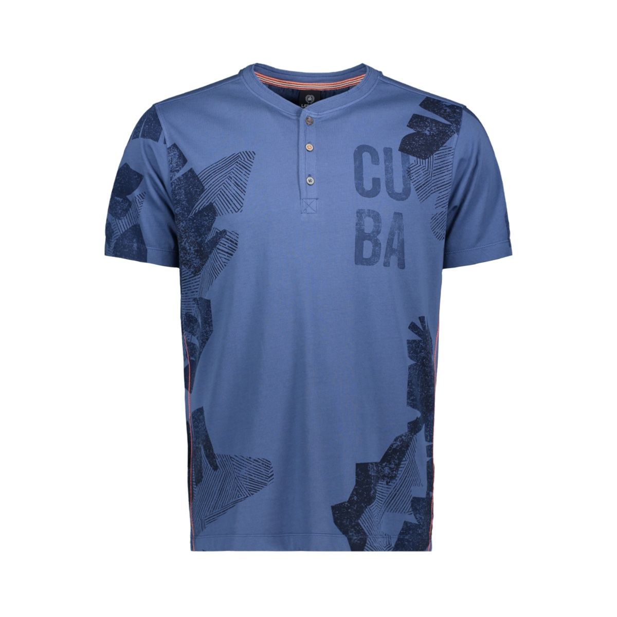 korte mouw t shirt serafino 2933969 lerros t-shirt 436