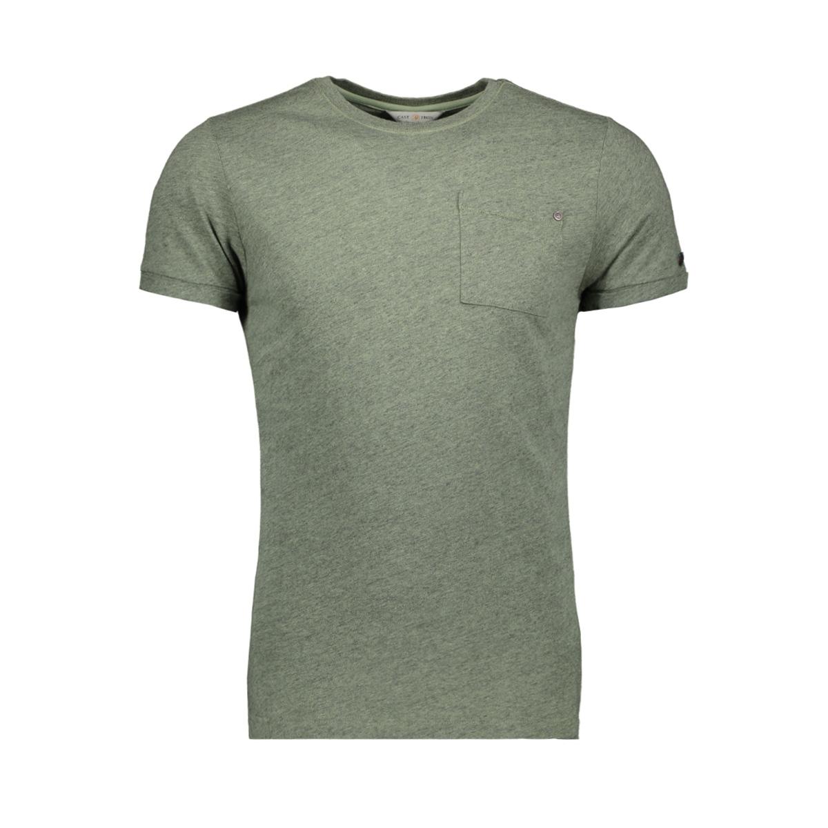 garment dyed melange t shirt ctss193301 cast iron t-shirt 6186