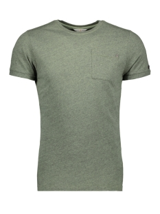 Cast Iron T-shirt GARMENT DYED MELANGE T SHIRT CTSS193301 6186