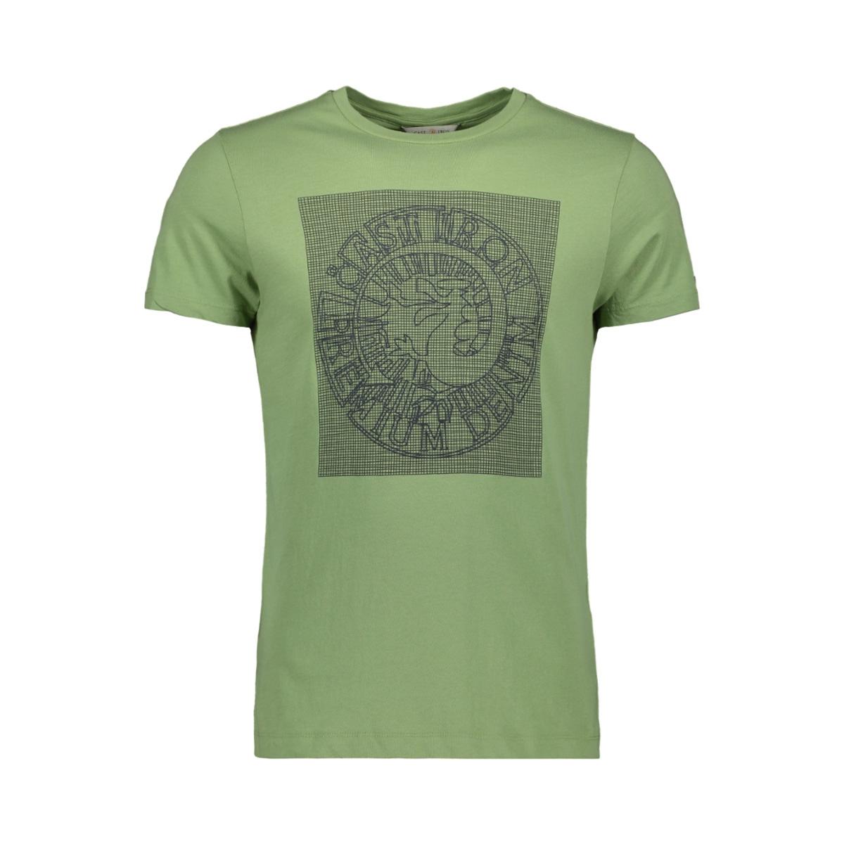 fine jersey rubber print logo t shirt ctss193302 cast iron t-shirt 6186