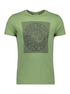 Cast Iron T-shirt FINE JERSEY RUBBER PRINT LOGO T SHIRT CTSS193302 6186