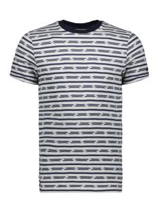 broken stripe t shirt ctss193308 cast iron t-shirt 7014