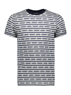 Cast Iron T-shirt BROKEN STRIPE T SHIRT CTSS193308 7014