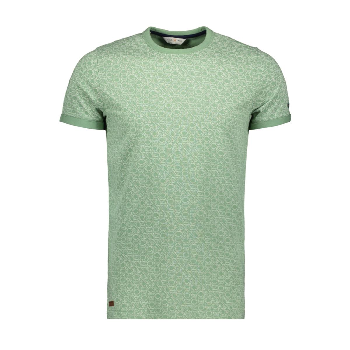 logo text all over print t shirt ctss193312 cast iron t-shirt 6186