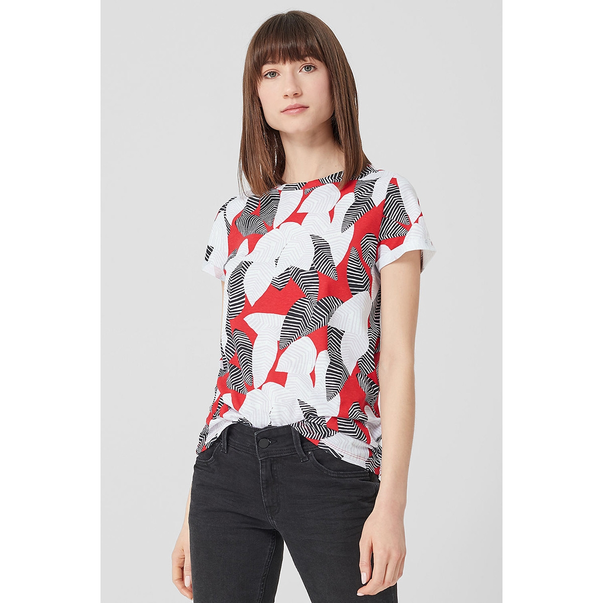 t shirt met all over print 41904325205 q/s designed by t-shirt 31a1