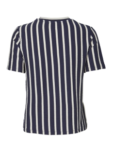 pcbora ss top pb 17094172 pieces t-shirt maritime blue/almond milk