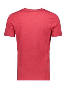 jconine ss tee crew neck 12152225 jack & jones t-shirt chinese red