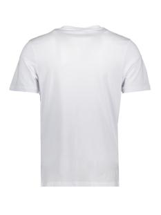jcobooster tee ss crew neck april 19 12152862 jack & jones t-shirt white/jj. slim