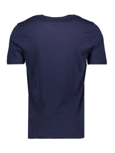 jcobooster tee ss crew neck april 19 12152862 jack & jones t-shirt maritime blue/slim