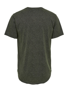 onsmatt longy  raw edge aop eq 3115 22013115 only & sons t-shirt phantom