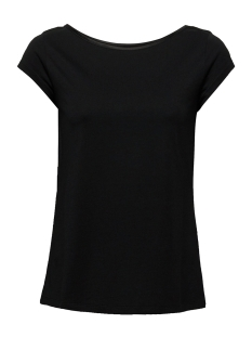Esprit Collection T-shirt SHIRT MET GERAFFINEERDE CUT OUT 049EO1K001 E001 BLACK