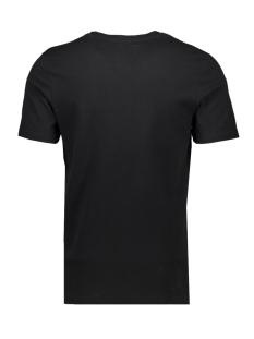 jcolike tee ss crew neck 12152216 jack & jones t-shirt black/slim