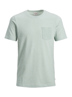 Jack & Jones T-shirt JCOLIKE TEE SS CREW NECK 12152216 Blue Surf/SLIM