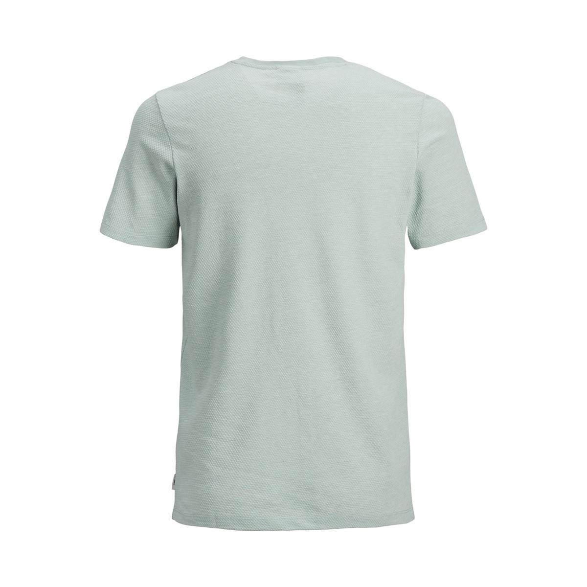 jcolike tee ss crew neck 12152216 jack & jones t-shirt blue surf/slim