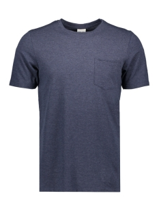 Jack & Jones T-shirt JCOLIKE TEE SS CREW NECK 12152216 Maritim Blue/SLIM