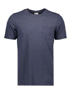 jcolike tee ss crew neck 12152216 jack & jones t-shirt maritim blue/slim