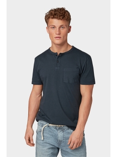 washed henley tshirt 1010850xx12 tom tailor t-shirt 10668