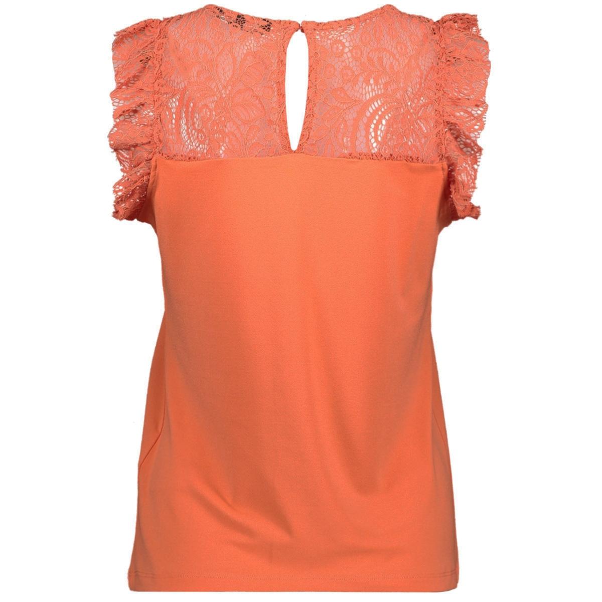 vmalberta sweetheart lace s/l top 10211607 vero moda top emberglow