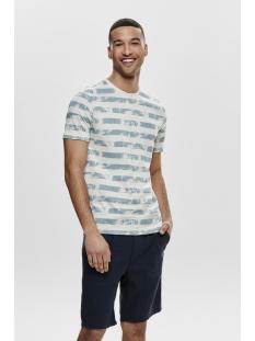 onspatrik stripe slim tee eq 3191 22013191 only & sons t-shirt smoke blue