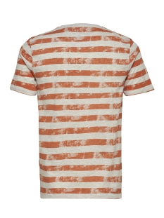 onspatrik stripe slim tee eq 3191 22013191 only & sons t-shirt carnelian