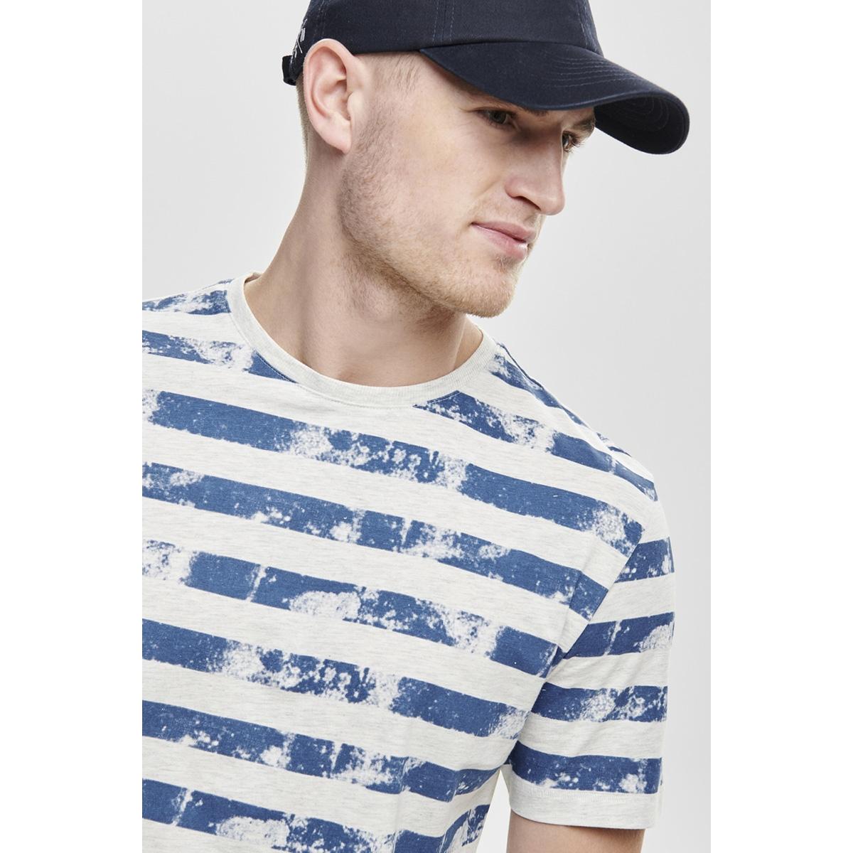 onspatrik stripe slim tee eq 3191 22013191 only & sons t-shirt true blue