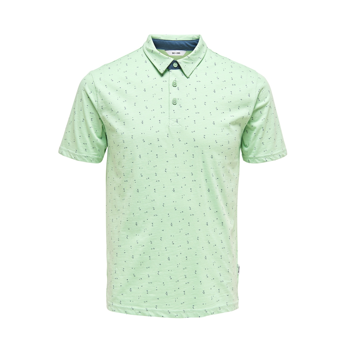 onsliam ss polo tee 22012573 only & sons polo grayed jade
