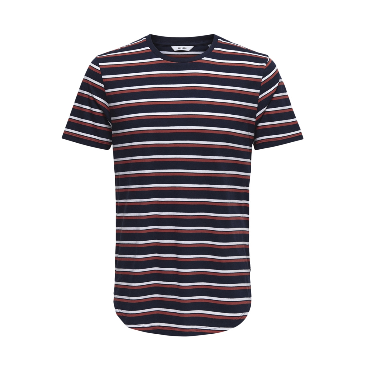 onspalatine ss longy tee 22013137 only & sons t-shirt dress blues