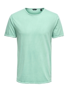 Only & Sons T-shirt onsALBERT WASHED O-NECK NOOS 22008773 Aquifer