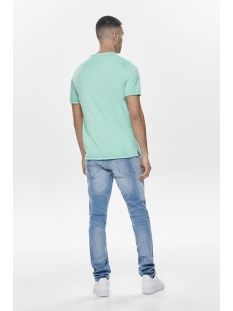 onsalbert washed o-neck noos 22008773 only & sons t-shirt aquifer