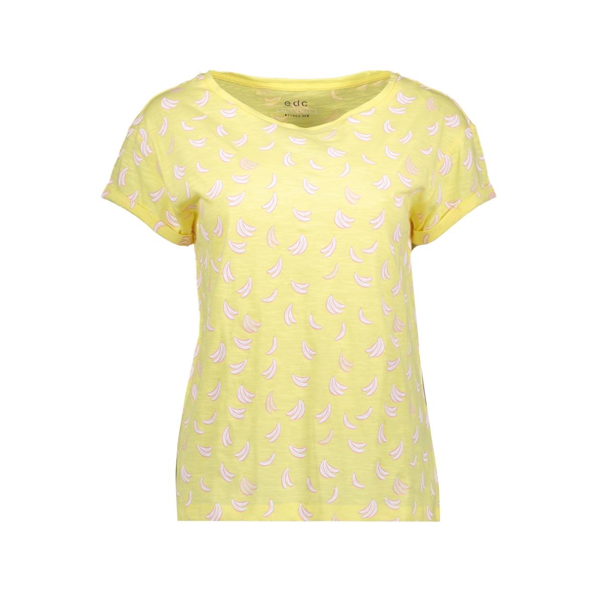 978a5c6e399 slub jersey shirt met print 059cc1k020 edc t-shirt c745