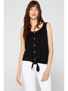 blousetop met knoop aan de zoom 059ee1k006 esprit top e001