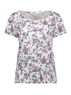 t shirt met bloemenprint 1010421 tom tailor t-shirt 17381