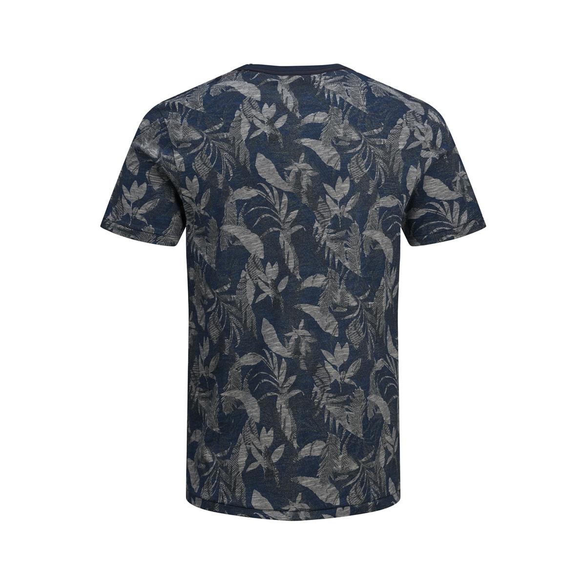 jprcaleb blu. tee ss crew neck 12152276 jack & jones t-shirt estate blue
