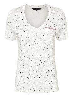 Vero Moda T-shirt VMTANJA SS TEE BOX 10208820 Snow White/NIGHT SKY