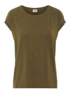 Vero Moda T-shirt VMAVA PLAIN SS TOP GA COLOR 10195724 Ivy Green