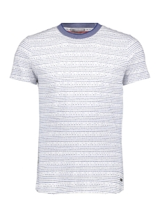 NO-EXCESS T-shirt JAQUARD TSHIRT 90320409 136 INDIGO BLUE